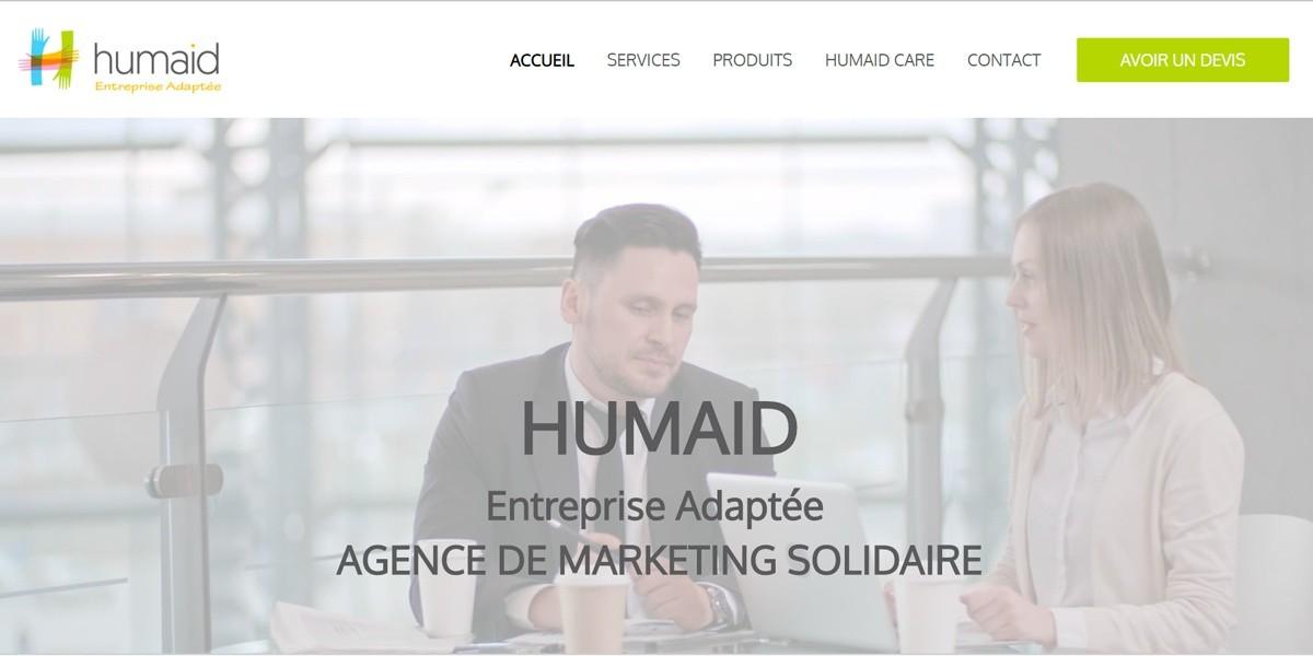 HUMAID ENTREPRISE ADAPTÉ - французская маркетинговая компания