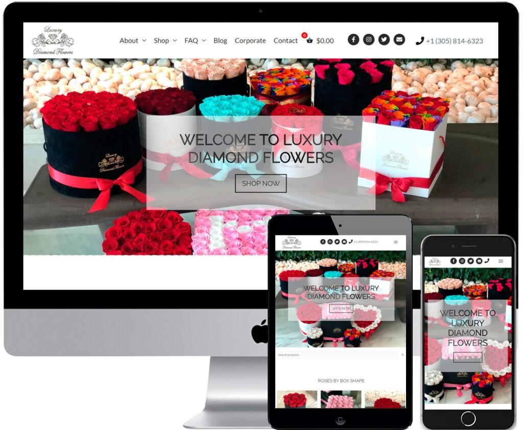 Интернет-магазин букетов в США